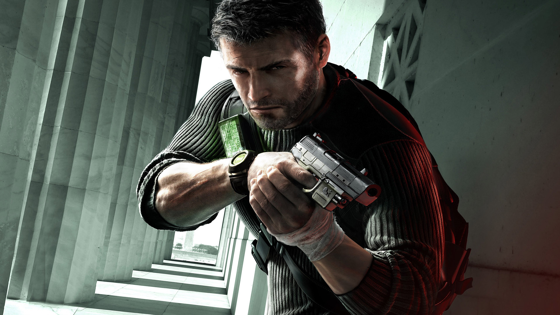 Protagonistas Sam Fisher